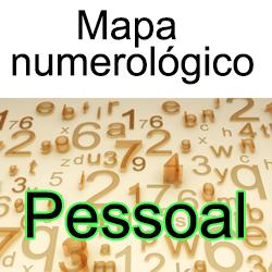 Mapa numerológico pessoal